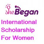 SheBegan International Scholarship for Women