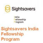 Sightsavers India Fellowship Program