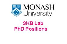 SKB Lab Monash University PhD Positions
