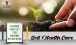 Slogan Contest for Raising Awareness: Soil Health Care