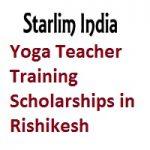 Starlim India Yoga Teacher Training Scholarships in Rishikesh
