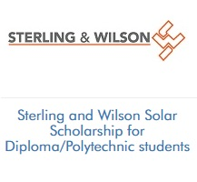 Sterling and Wilson Solar Scholarship for Diploma And Polytechnic Students