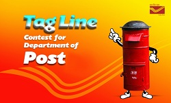 Tag Line Contest for Department of Post