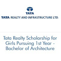 Tata Realty Scholarship for Girls Pursuing 1st Year - Bachelor of Architecture