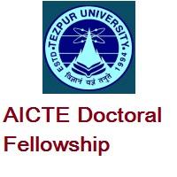 Tezpur University AICTE Doctoral Fellowship