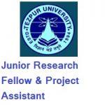 Tezpur University Junior Research Fellow & Project Assistant
