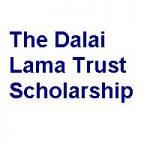 The Dalai Lama Trust Scholarship