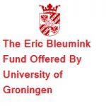 The Eric Bleumink Fund Offered By University of Groningen