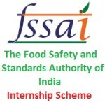 The Food Safety and Standards Authority of India (FSSAI) Internships