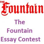 The Fountain Essay Contest 2018