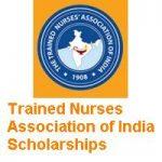 The Trained Nurses Association of India TNAI Scholarships 2019-2020