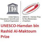 The UNESCO-Hamdan bin Rashid Al-Maktoum Prize