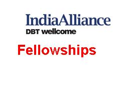 The Wellcome Trust DBT India Alliance Fellowships