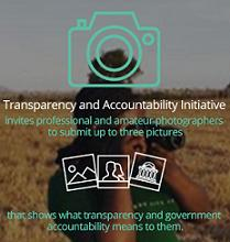 Transparency and Accountability Initiative Photo Grant