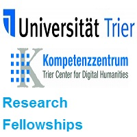 Trier Center for Digital Humanities-TCDH Research Fellowships