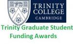 TRINITY GRADUATE STUDENT FUNDING AWARDS