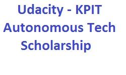 Udacity KPIT Autonomous Tech Scholarship