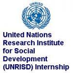 United Nations Research Institute for Social Development (UNRISD) Internship