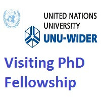 United Nations University World Institute for Development Economics Research Visiting PhD Fellowship