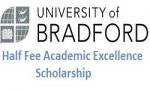 University of Bradford Half Fee Academic Excellence Scholarship