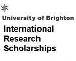 University of Brighton International Research Scholarships