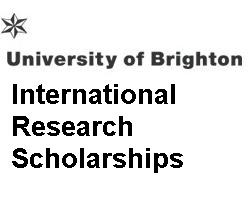 University of Brighton International Research Scholarships