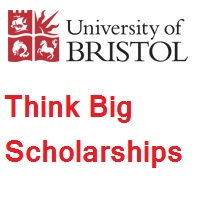 University of Bristol Think Big Scholarships