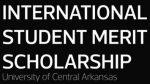 University of Central Arkansas International Student Merit Scholarship