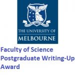University of Melbourne Faculty of Science Postgraduate Writing-Up Award
