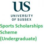 University of Sussex Sports Scholarships Scheme-Undergraduate