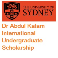 University of Sydney Dr Abdul Kalam International Undergraduate Scholarship