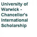 University of Warwick Chancellors International Scholarship