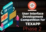 User Interface Development Competition for TEXAPP - Phase II