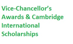 Vice Chancellors Awards Cambridge International Scholarships