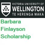 Victoria University of Wellington-New Zealand-Barbara Finlayson Scholarship