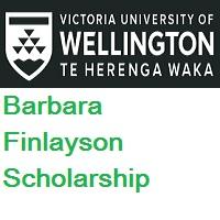 Victoria University of Wellington-New Zealand-Barbara Finlayson Scholarship