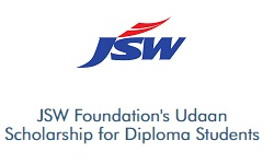 Vidyasaarathi JSW Foundations Udaan Scholarship for Diploma Students