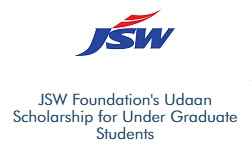 Vidyasaarathi JSW Foundation's Udaan Scholarship for Under Graduate Students