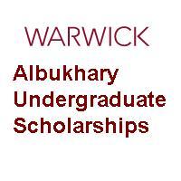 Warwick Albukhary Undergraduate Scholarships